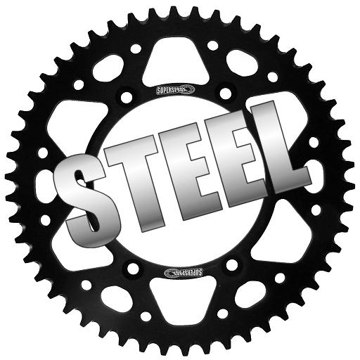 Supersprox Steel Black Rear Sprocket 428 Pitch 46 Teeth KTM 85 SX 6 2006
